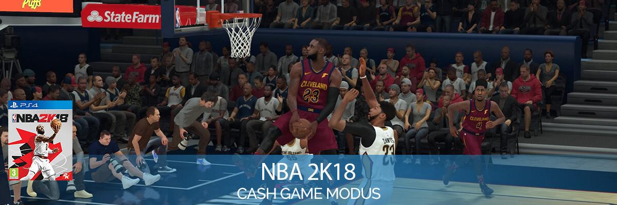 NBA 2K18 (PlayStation 4) Cash Games