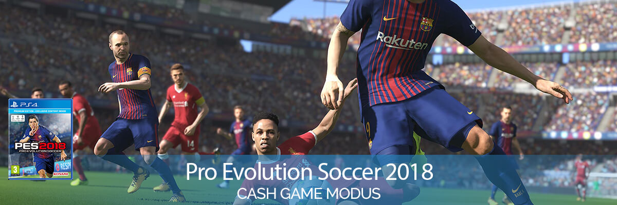 Pro Evolution Soccer 2018 (PlayStation 4) Cash Games