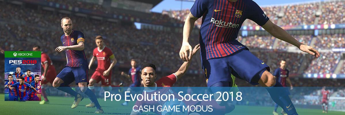Pro Evolution Soccer 2018 (XBox One) Cash Games
